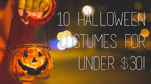10 halloween costumes for under 30