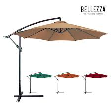 Coolaroo Patio Umbrella by Top 10 Best Offset Umbrella Reviews Perfect 2017 Guide