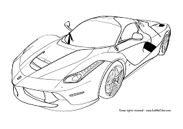 10 must see u0027fast lane u0027 car coloring pages u2013 letmecolor