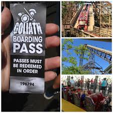 Six Flags In America Goliath At Six Flags Great America Conquer The Fear