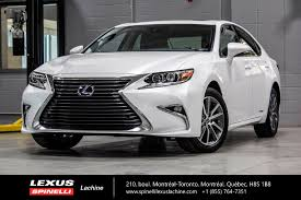 lexus ct200h used toronto used 2016 lexus es 300h hybride grp exec gps audio for sale in