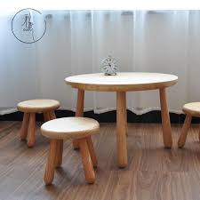 small round game table usd 143 20 solid wood child tables and chairs sets small round