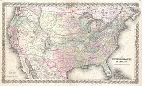 Map Of The Untied States File 1855 Colton Map Of The United States Geographicus