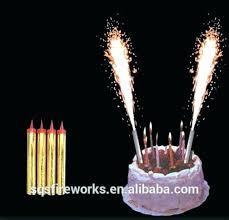 sparkler candles for cakes firework birthday candles cake sparklers ebay