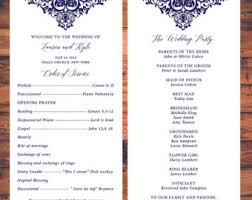 traditional wedding program template beautiful traditional wedding processional order photos styles