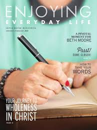 joyce meyer ministries enjoying everyday life jan feb 2015 by