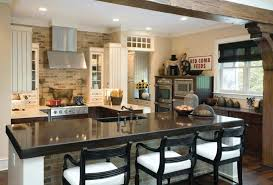 island for small kitchen ideas brown traditional paterned rug