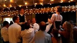 Jewish Wedding Chair Dance Dan And Kristin U0027s Wedding Hora Chair Dance Youtube