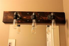 lighting fixtures diy industrial bathroom light fixtures home