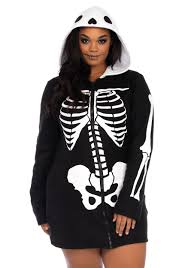 skeleton costume plus size cozy skeleton costume for women