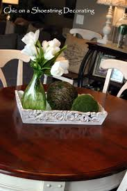 chic on a shoestring decorating my spring kitchen