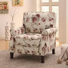 Upholstered Accent Chair Coaster Furniture 902131 Upholstered Floral Accent Chair Inside