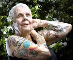 these badass seniors are still rockin u0027 their tattoos at age 70