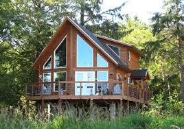 kingsbury custom retreats cottages post and beam homes cedar