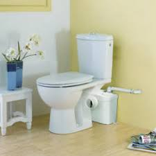 toilet with pump for basement ejector system pumps bathrooms