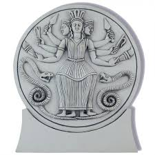 hecate roman triple goddess plaque witch wicca greek goddess