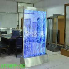 led light wall panels ktv effect led light water bubble wall panel wall divider water