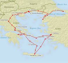 Turkey Greece Map by Printed Material From The April 2015 Trip To Greece And Turkey