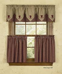 kitchen gratifying country kitchen curtains pertaining to