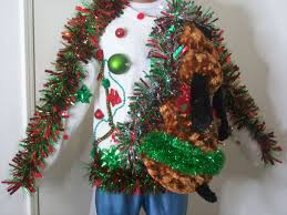 Ugly Christmas Sweater Decorations 20 Awesomely Ugly Christmas Sweaters