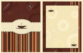 coffee shop background design design for coffee shop menu royalty free cliparts vectors and
