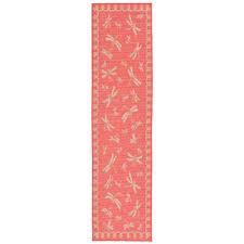 Dragonfly Indoor Outdoor Rug Indoor U0026 Outdoor Pink Hallway Runners You U0027ll Love Wayfair