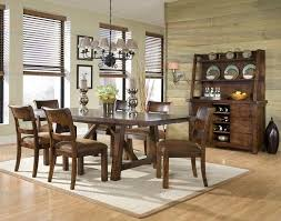 Legacy Dining Room Furniture Classic Furniture Woodland Ridge 5 Rectangular Trestle