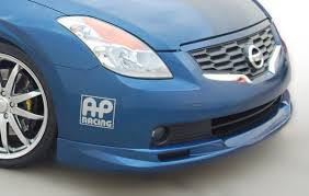 nissan altima coupe front lip amazon com stillen 108342 front lip spoiler 08 09 altima coupe