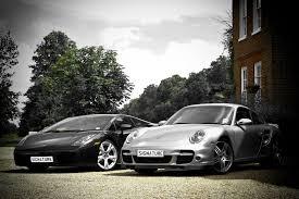vs porsche 911 turbo gallardo coupe vs porsche 911 turbo
