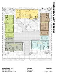 interior courtyard house plans 2 house plans with interior courtyard homes zone striking