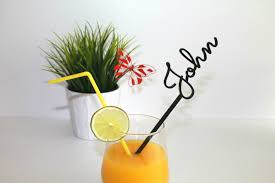 personalised drink stirrers cocktail stirrers wedding drink