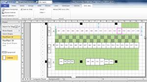 visio floor plan scale using visio to draw data center floor plans quickly and easily