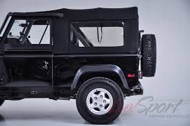 1997 land rover defender interior 1997 land rover defender 90 open top stock 1997104 for sale near