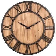 Grande Horloge Murale Carrée En Bois Vintage Achat Horloge Murale Bois Achat Vente Pas Cher