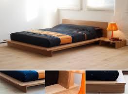 Japanese Low Bed Frame Platform Beds Low Platform Beds Japanese Solid Wood Bed Frame For