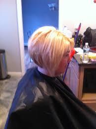weak chin like mine stacked cut helps profile yes hair
