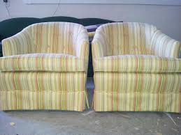 Upholstered Club Chairs by Pictures Of Upholstery In Portland Matching Club Chairs In Stripe