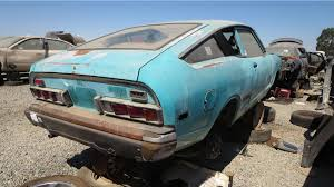 vintage datsun junkyard gem 1974 datsun b210 fastback autoblog