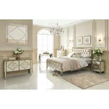 sassari mirrored bedside table zurich white glass lucia white