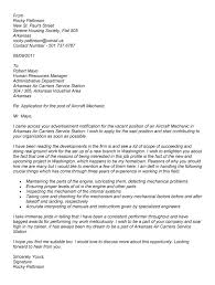 collection of solutions cover letter for job application aircraft