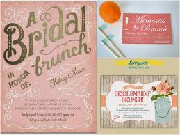 brunch invites bridal party thank you brunch bridal magic