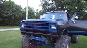 mudding truck for sale dodge mud truck on 44s youtube
