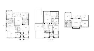 luxury townhouse floor plans braemar in gotha by taylor morrison