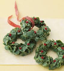 cornflake christmas wreaths parents