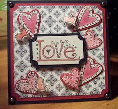 Hand Made Card Designs 25 Beautiful Valentine U0027s Day Card Ideas 2014
