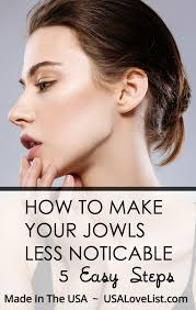hairstyles to hide jowls american beauty anti aging series how to make jowls less noticeable