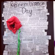 remembrance day poem craft activity craft memorial veterans