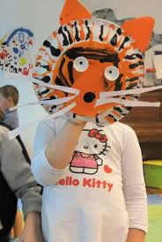 terrific tiger hand puppets a very arty craft may 2012