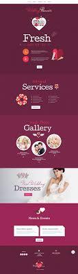 wedding planner website website templates wedding custom website template wedding website
