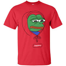 supreme shirts sad frog supreme shirts feelsbadman hoodies sweatshirts teecrazies